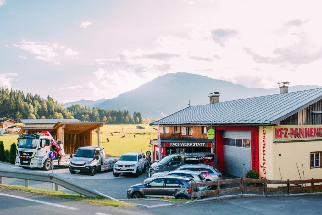 Abschleppdienst Rohrmoser Fuhrpark